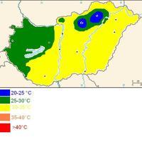 konvektív és hőtérkép előrejelzés