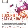 Coronita Sunday flyer és banner