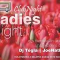 CUE Ladies Night flyer és bannertervezés