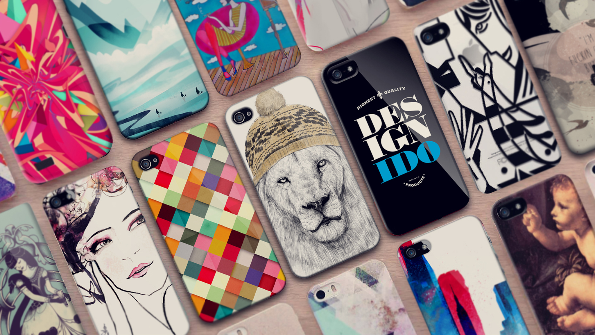 Egyedi Design-I-Do iPad és iPhone tokok