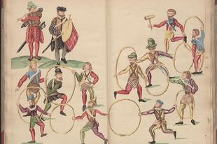 Extravagáns karneváli divat