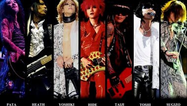 X Japan, a japán rock Queenje