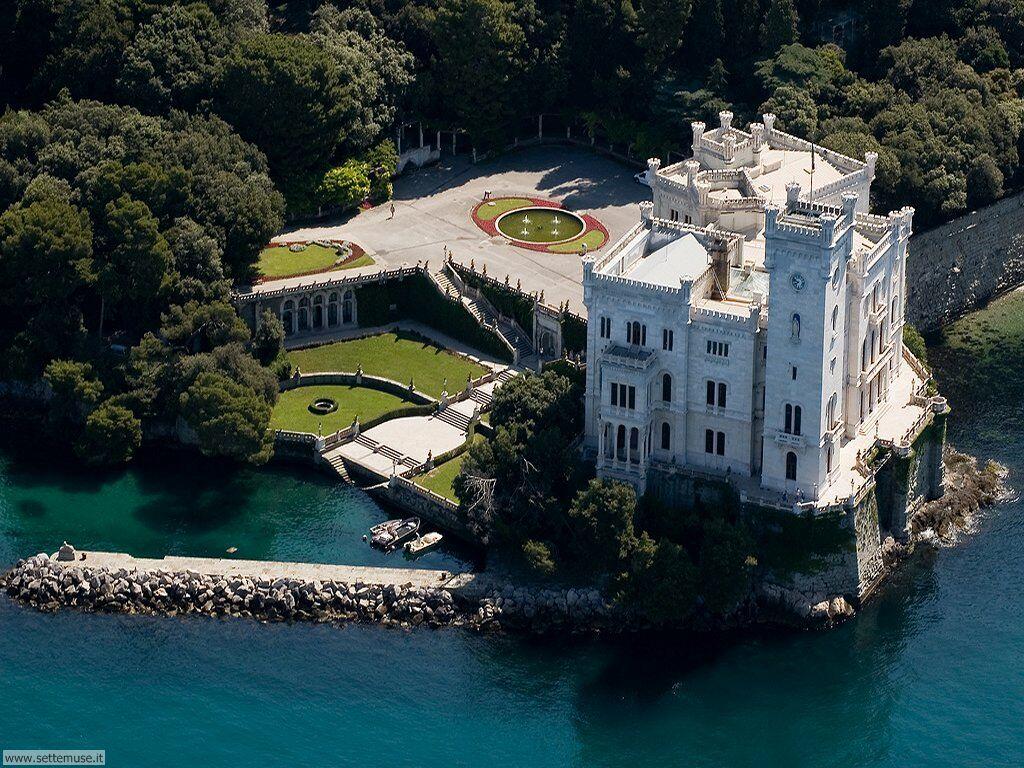 Castello di Miramare (kép: http://www.settemuse.it/)
