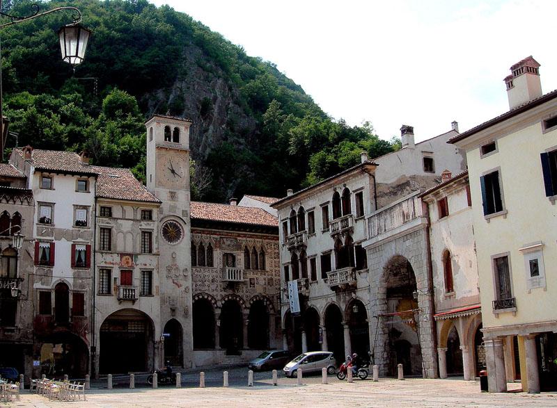 Vittorio Veneto (kép innen: http://www.casw.org.uk/)