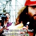I just felt like running