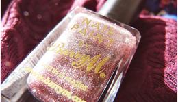 Csillámló Csoda - Barry M Pink Silver Glitter