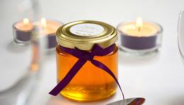 Befőttes üveg mézzel