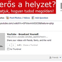 YouTube videó megosztási hiba a Facebookon! Itt a megoldás!
