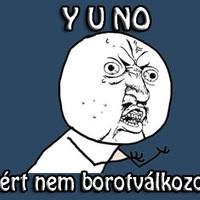 Y U NO..