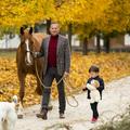 Gyerek, ló, kutya (kutyák)