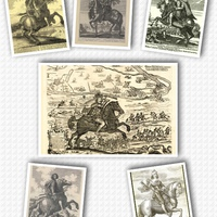 Zrínyi lovas portréi