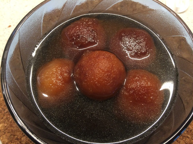 Gulab Jamun - édes india