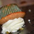 Diós Cupcake Citromos mázzal