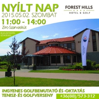 Nyílt nap a Forest Hills hotelben