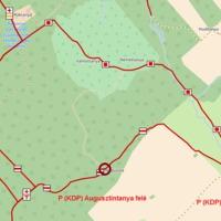 Lezárt Piros turistaút Hárskútnál - túrázók figyelmébe!