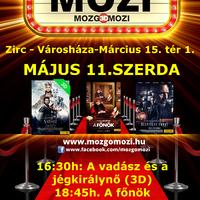 Mozgó-Mozi, 2016. május 11., szerda