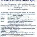 II. Zirci Farsangoló Bál  2012. február 18. szombat 19 óra
