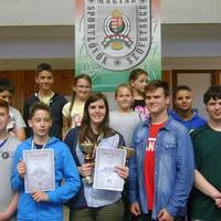 Országos bajnok a zirci lövészcsapat