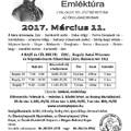 Reguly Antal Emléktúra március 11-én, szombaton