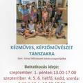 Legyen a gyerek színvonalas - beiratkozás 2017/18-as tanévre