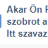 A szavazás állása egy hét után: Akarja-e Ön, hogy a Zirci Országzászló Alapítvány szobrot állítson Fekete István írónak a Rákóczi téren?