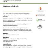 Térítésmentes tanácsadó nap a Cégkapu regisztrációról