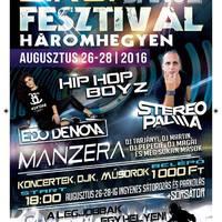 Zirci Dance Fesztivál Háromhegyen - 2016.08.26-28.