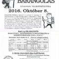 Bakonyi Barangolás október 8-án, szombaton