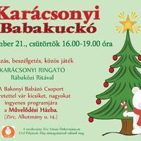 Bakonyi Babázók Karácsonyi Babakuckója