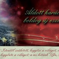 Áldott, békés karácsonyi ünnepeket és boldog új évet