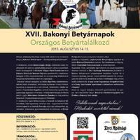 XVII. Bakonyi Betyárnapok - Zirc