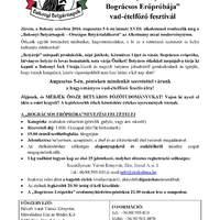 """XVIII. Bakonyi Betyárnapok - Országos Betyártalálkozó  - """"Bakonyi Betyárok Bográcsos Erőpróbája"""""""