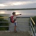Biciklivel a Tisza-tó körül