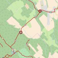 Lezárt P+ turistaút Pénzesgyőrben - túrázók figyelmébe! - *frissített térkép