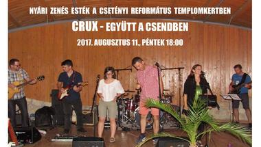 Nyári zenés esték - Csetény, 2017. augusztus 17., péntek