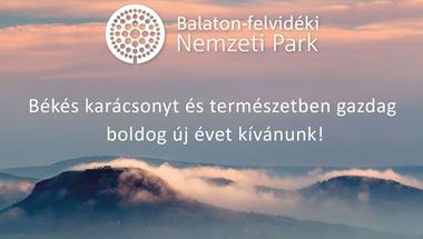 Karácsonyi Üdvözlet Balaton-felvidéki Nemzeti Park