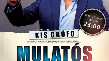 Mulatós Megaparty 2016. okt. 29-én - Kis Grofoval