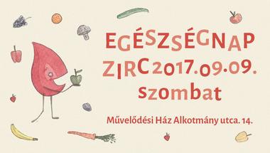 Egészségnap - Zirc, 2017. szeptember 9., szombat -PROGRAMVÁLTOZÁS!
