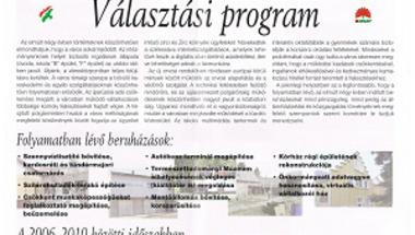 Hátraarc - az önkormányzati választások negyedszázada Zircen. 8. rész - 2006