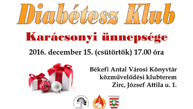 Diabétesz Klub karácsonyi ünnepsége