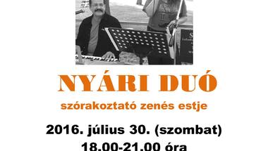 Zenélő Nyári Udvar - Nyári Duó