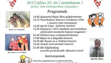 Pénzesgyőri falunap - 2017.07.22., szombat
