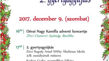 Zirciek Adventje - 2. gyertyagyújtás