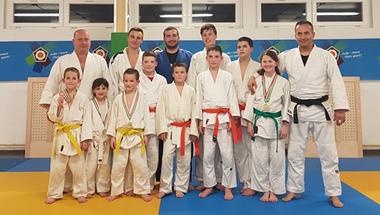 Építkezési stádiumban vannak - Az Újévi Sporthíradó vendége a Vincze Judo Club Zirc