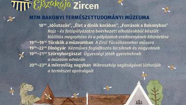 Múzeumok Éjszakája az MTM Bakonyi Természettudományi Múzeumában