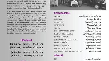 Arzén és levendula - a Bakony Hangja Színjátszó Csoport előadásai