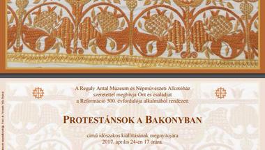 """""""Protestánsok a Bakonyban"""" címmel kiállítás nyílik a Reguly Antal Múzeumban"""