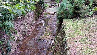 Nincs víz a Cuha-patakban