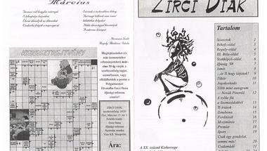 Zirci retro - diákélet 19 évvel ezelőtt