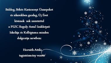 Karácsonyi Üdvözlet! - PSZC Reguly Antal Szakképző Iskola